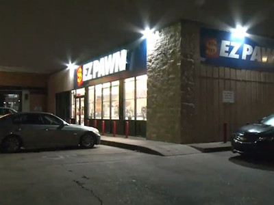 Two suspects were arrested and one is still on the run after a robbery at the EZ PAWN shop on Bellaire Blvd.