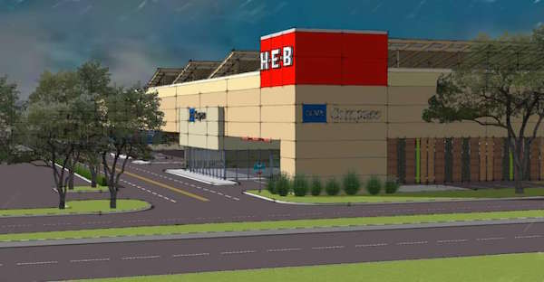 H-E-B plans to build a 2 story grocery store in Meyerland Plaza.