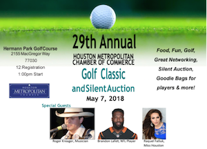 Houston Metropolitan Chamber of Commerce Golf Classic & Silent Auction