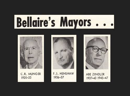 The City of Bellaire was incorporated 100 years ago today!