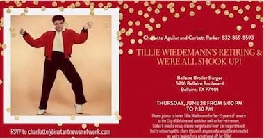 Tillie Wiedemann's Retirement Party