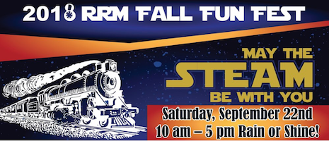 Fall Fun Fest 2018 May the Steam be With You