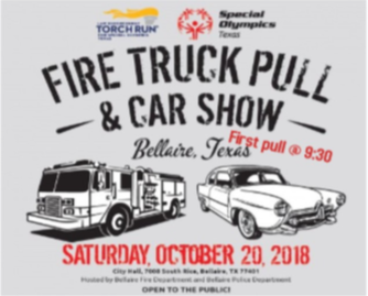 Bellaire Fire Truck Pull, Car Show, and City Market