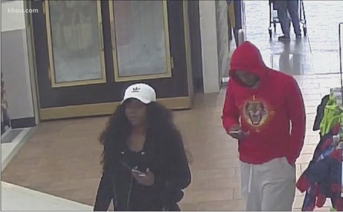 A man and a woman are targeting women in parking lots, then following them home.