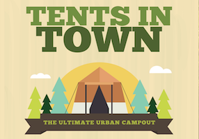 Tents in Town