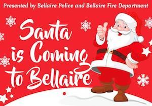 Santa Sightings in Bellaire