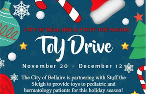 Stuff the Sleigh Toy Drive