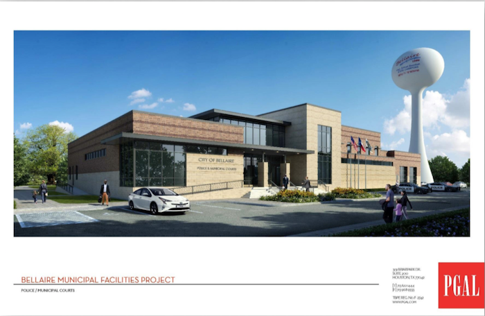 The new Bellaire Police and Court building will open January 22.