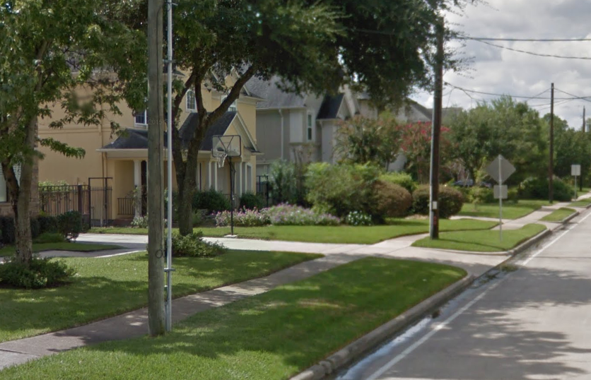 The sidewalk drama continues in Bellaire.