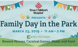 Texas Children's Hospital Presents Family Day in the Park