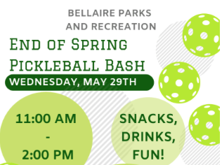 Bellaire Piclelball Bash