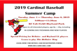 Bellaire Baseball Camp