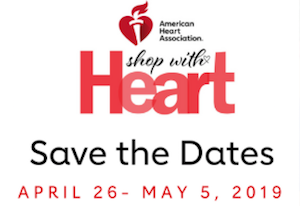 American Heart Association presents Shop With Heart Card Kick-Off Event