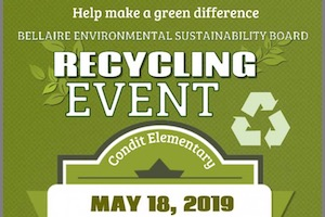 Bellaire Recycling Event