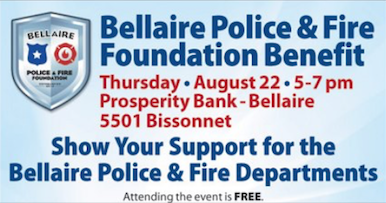 Bellaire Police & Fire Foundation Benefit