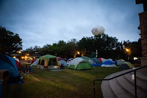 Tents in Town, The Ultimate Urban Campout, will fill Bellaire Town Square this weekend.