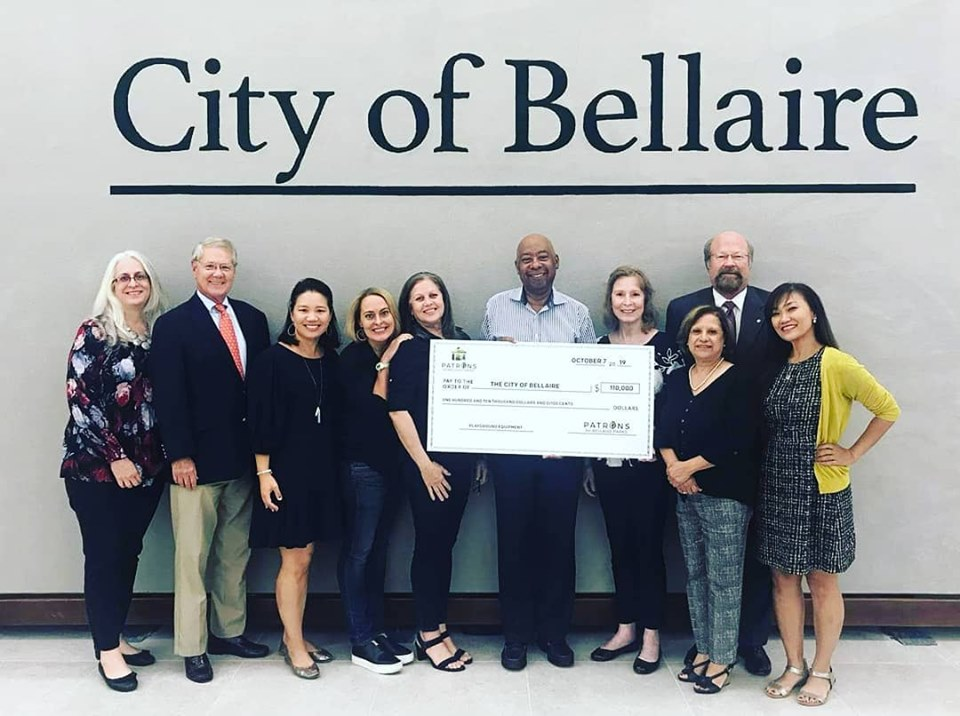 Patrons for Bellaire Parks