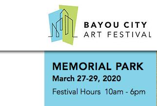 Bayou City Art Festival 2020