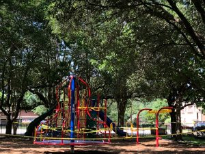 New playground equipment has been installed at several Bellaire parks.