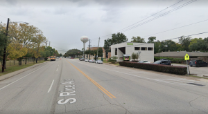Rice Ave. will return to 4 lanes in front of Bellaire City Hall.