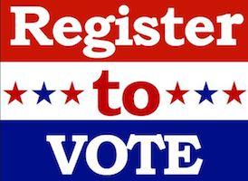 Register to Vote Drive-Thru Voter Registration