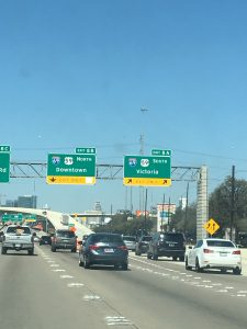 The new 59 southbound ramp from 610 northbound has opened!