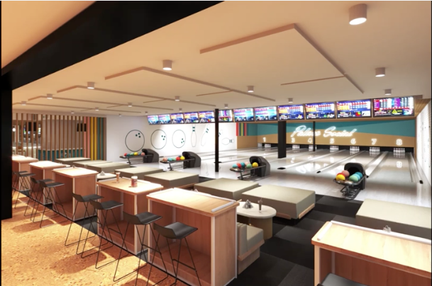 Palace Social replaces Palace Bowling Lanes as a new local entertainment venue.