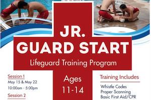 Jr. Guard Start Lifeguard Training