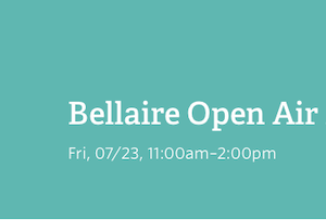 Bellaire Open Air X FINDITGIRL X Shopaholic Sanctuary