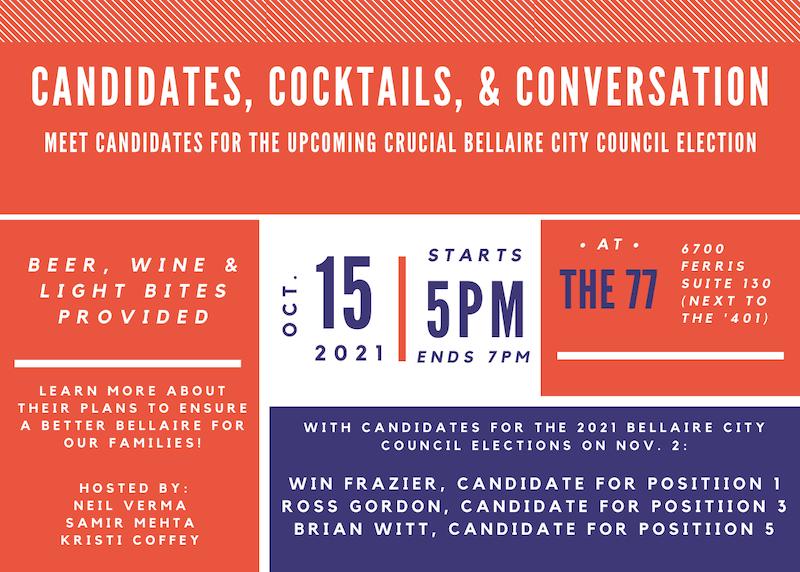 Candidates, Cocktails, Conversation
