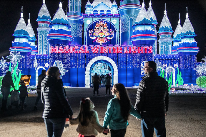 Magical Winter Lights is coming to Houston Raceway Park.