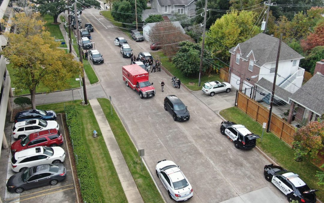 Bellaire Police discuss incident involving Bellaire, Bissonnet, Chestnut, and Second Streets on 9/21.