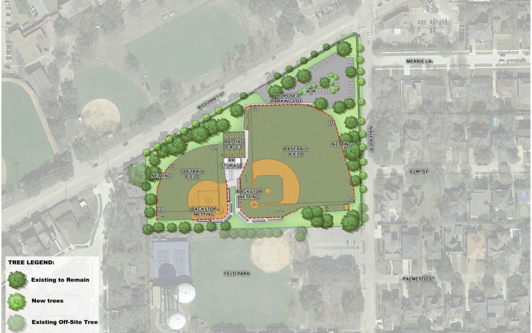An update on Bellaire High School's ballfields.