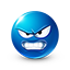 {blue}:angry: