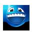 {blue}:grinning: