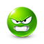 {green}:angry: