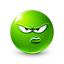 {green}:displeased: