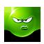 {green}:displeased: