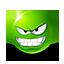 {green}:evil:
