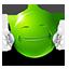 {green}:hug: