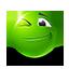 {green}:wink: