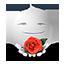 {white}:flower: